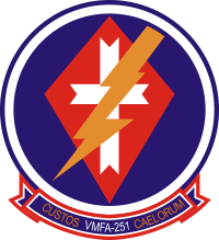 VMFA-251 Marine Fighter Attack Squadron Decal