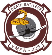 VMFA-323 Marine Fighter Attack Squadron Decal