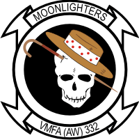 VMFA-332 Marine Fighter Attack Squadron Decal