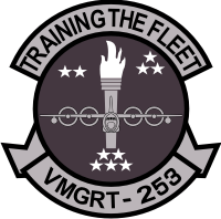 VMGRT-253 Marine Aerial Refueler Transport Training Squadron Decal