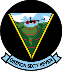 VO-67 Observation Squadron 67 Decal