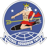 VP-2 Patrol Squadron 2 Decal