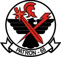 VP-68 Patrol Squadron 68 Decal