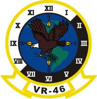 VR-46 Fleet Logistics Support Squadron 46 Decal