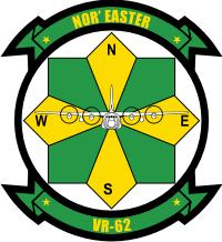 VR-62 Fleet Logistics Support Squadron 62 Decal