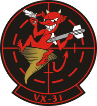 VX-31 Air Test and Evaluation Squadron 31 Decal