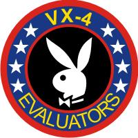 VX-4 Air Test and Evaluation Squadron 4 Evaluators Decal