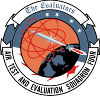 VX-4 Air Test and Evaluation Squadron Four Decal