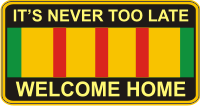 Welcome Home Decal