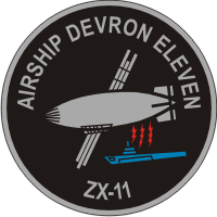 ZX-11 Airship Development Squadron 11 Decal