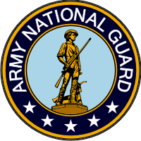Army National Guard Seal Decal