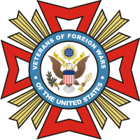 VFW Veterans of Foreign Wars Decal