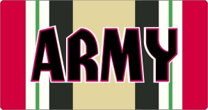 Army Iraq Campaign Ribbon Magnet