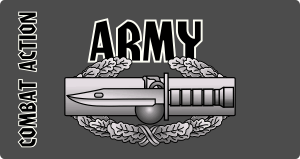Army Combat Action Badge Magnet