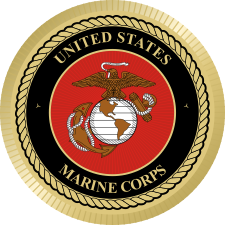 USMC Seal Magnet (1) Decal