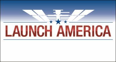 NASA Launch America Decal