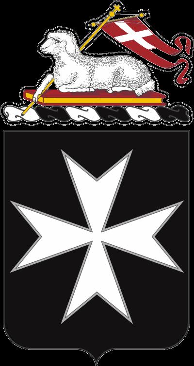 65th Infantry Regiment COA Decal