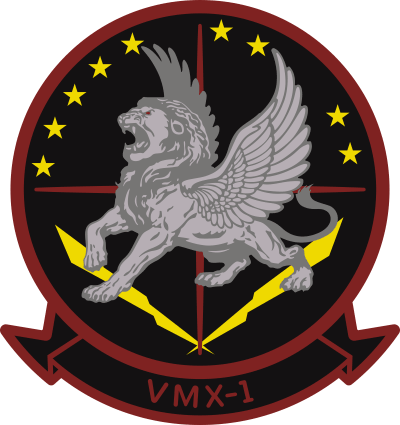 VMX-1 Marine Operational Test and Evaluation Squadron 1 Decal