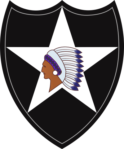 2nd Infantry Division Decal