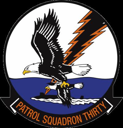 VP-30 Patrol Squadron 30 Decal