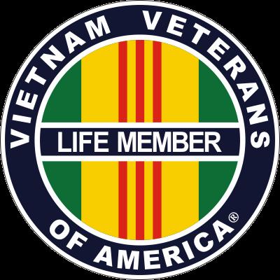 Vietnam Veterans of America -Lifetime Member Decal