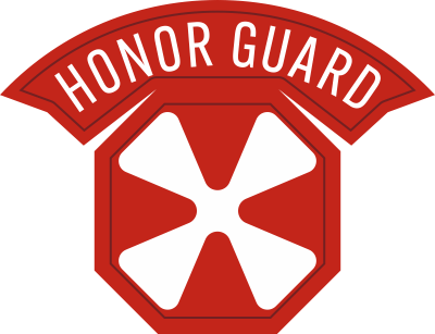 8th Army Honor Guard Decal