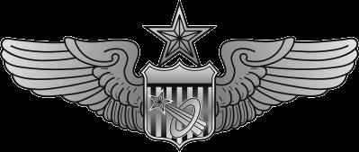 Air Force Astronaut Badge – Senior Decal