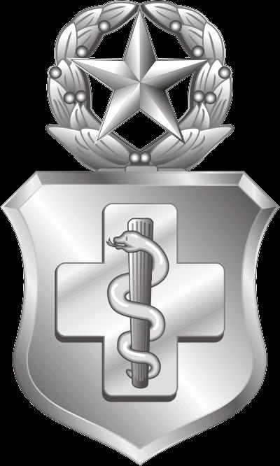 USAF Enlisted Medical Technician Badge – Master Decal
